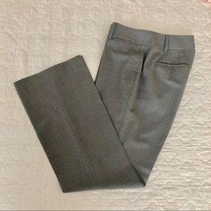 LOFT // Light Gray Trousers in Julie Curvy Fit